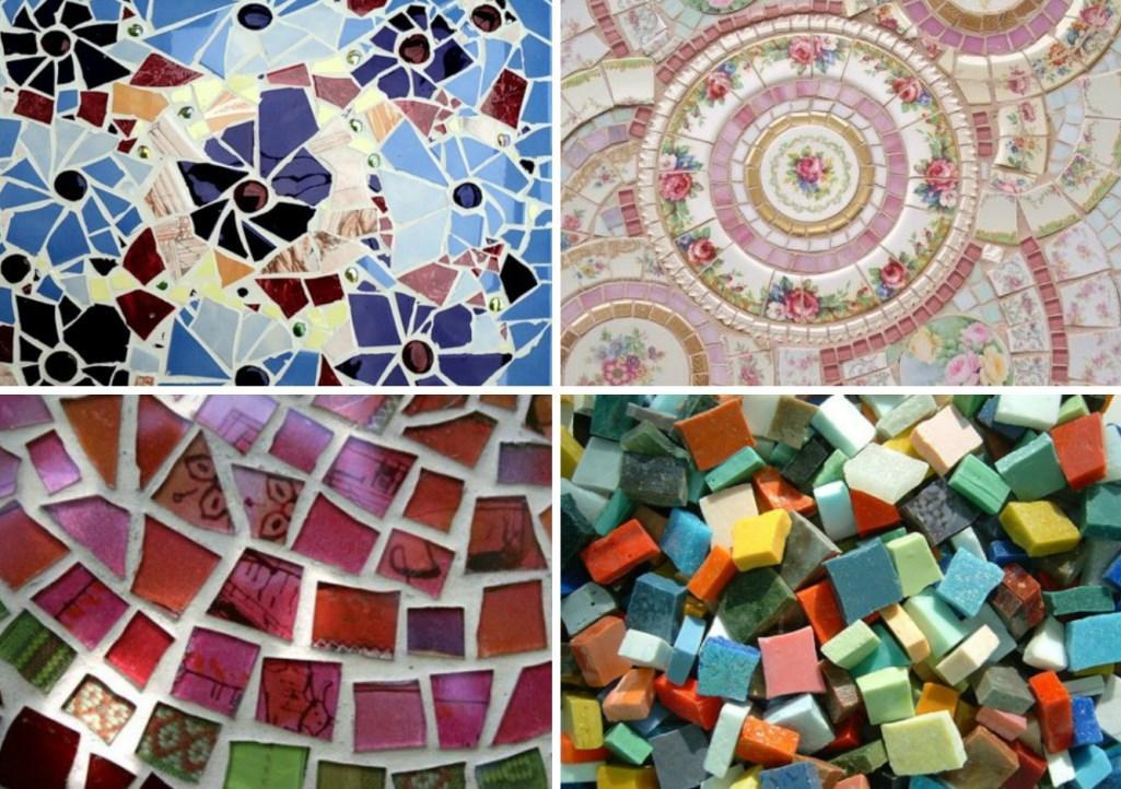 Мозаика с простыми или замысловатыми узорами на стены и пол
