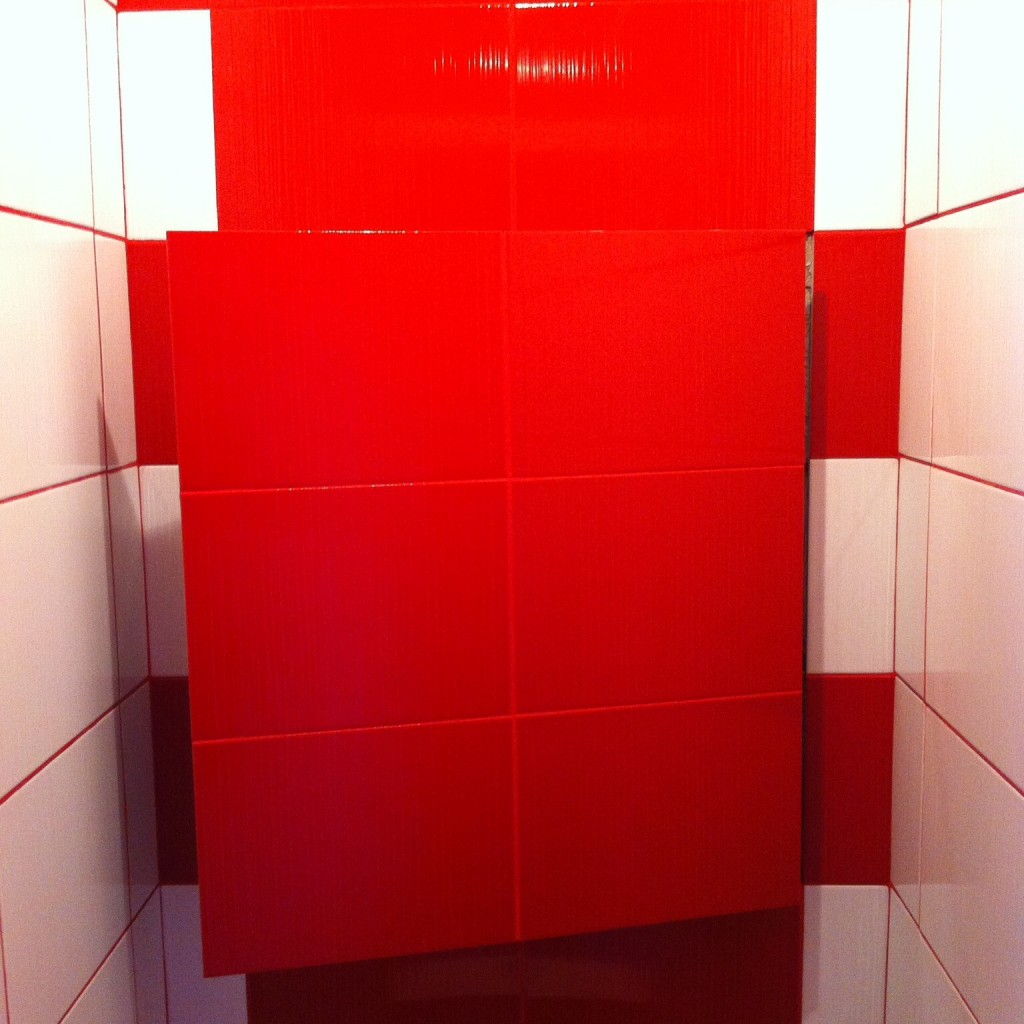 Auditing sanitary hatches for the bathroom and toilet: types, rules of placement, mounting features 14