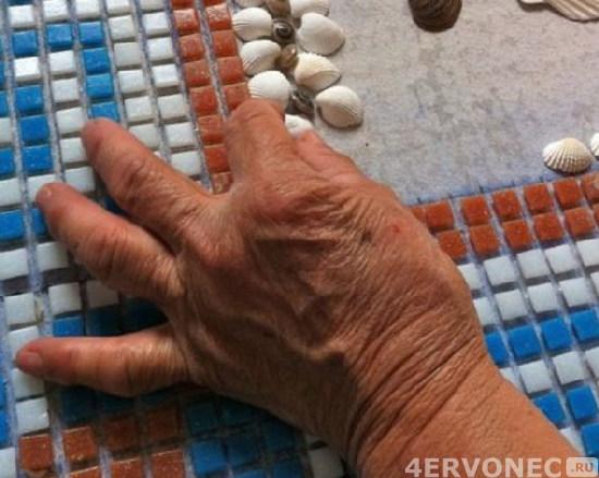Образцы мозаики из керамической плитки